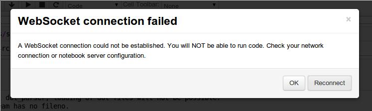 WebSocket Fail